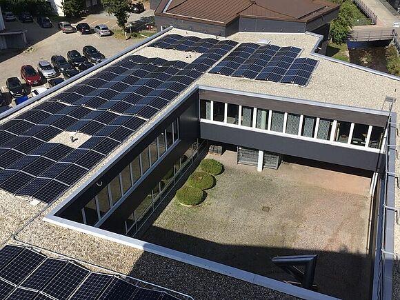 Neue Wärmeversorgung und klimafreundlicher Photovoltaikstrom (I19849)