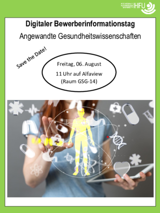 Poster Bewerberinfotag
