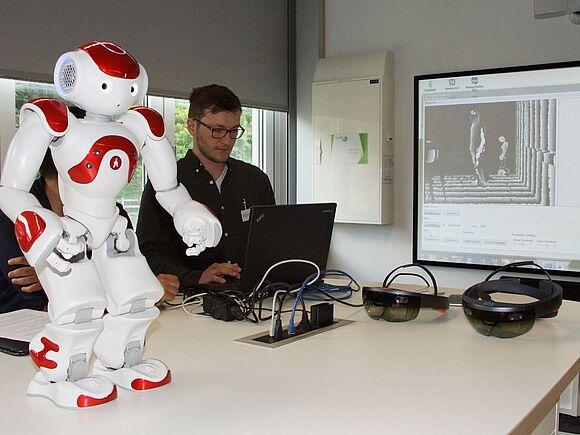 Das neue Smart Home Labor der Fakultät Informatik (I8115)