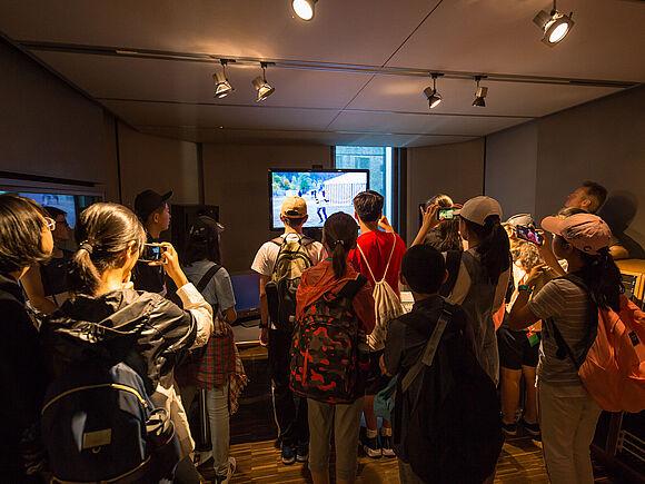 Schüler aus China zu Besuch (I9467)