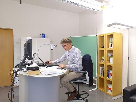Marketing- und Vertriebslabor der Fakultät Wirtschaftsingenieurwesen im Betrieb (I18099)