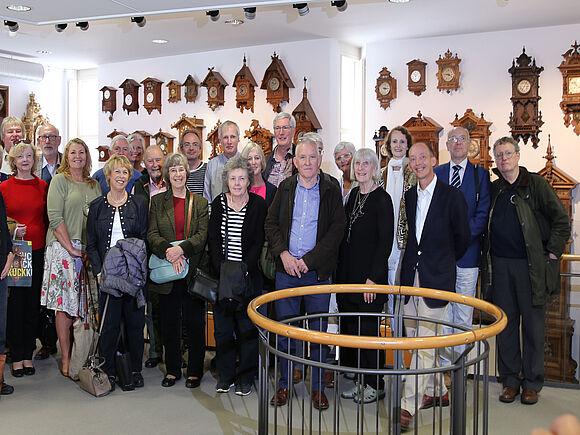 Ehrenwerter Besuch im Uhrenmuseum (I9584)