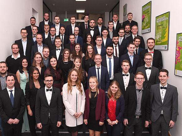 WING-Graduierungsfeier 1.12.2018
