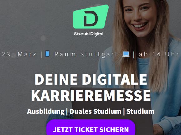 Stuzubi Digital Stuttgart am 23. März 2021