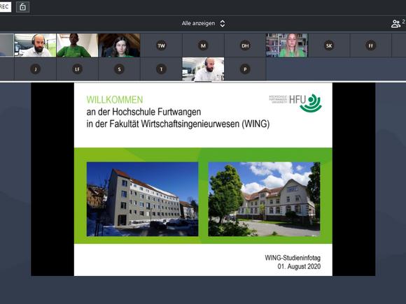 Aufzeichnung unseres virtuellen Studieninfotages ist jetzt online verfügbar (I17060)