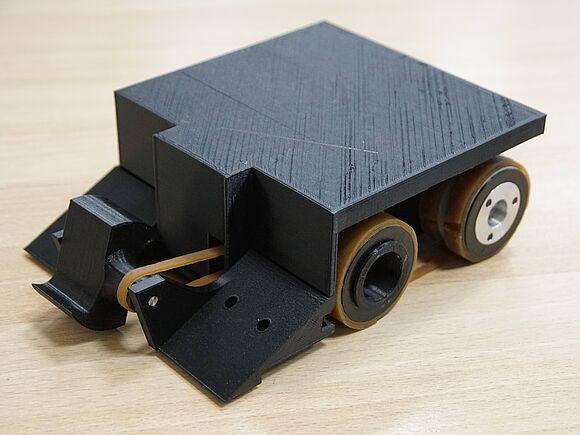 Roboterwettkampf im Fach