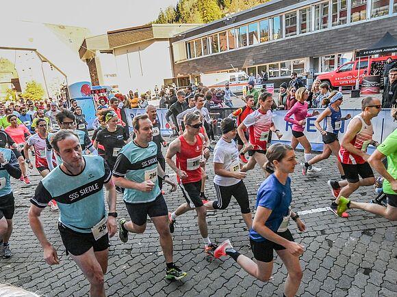 15. HFU Black Forest Run mit Teilnehmer- und Temperaturrekord (I15384)