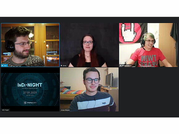 Interaktive Digital Media-Night – neues Format an der Fakultät DM