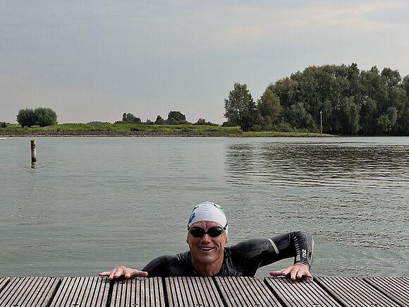Schwimmen für die Umwelt