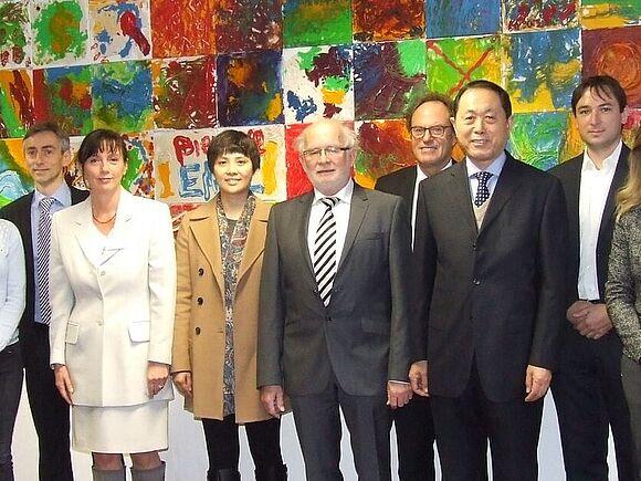 China Zusammenarbeit mit chinesischer Universität