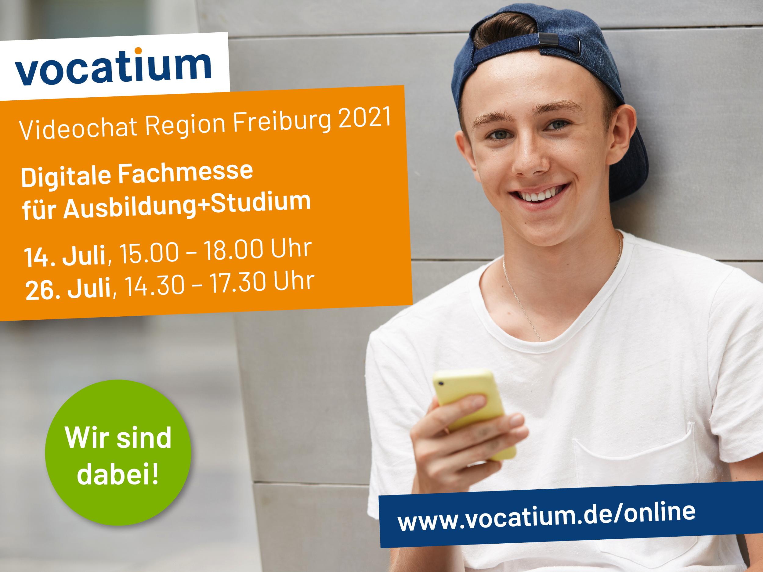 GSG wird präsentiert auf der vocatium-Online-Messe